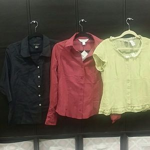 Lot of 3 blouses new